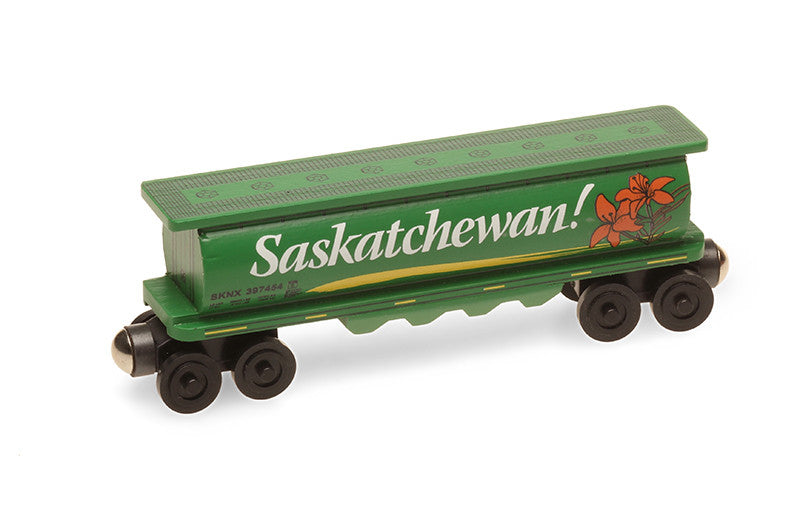 Whittle Shortline Railroad Saskatchewan 1 Cylinder Hopper Wooden Toy Train