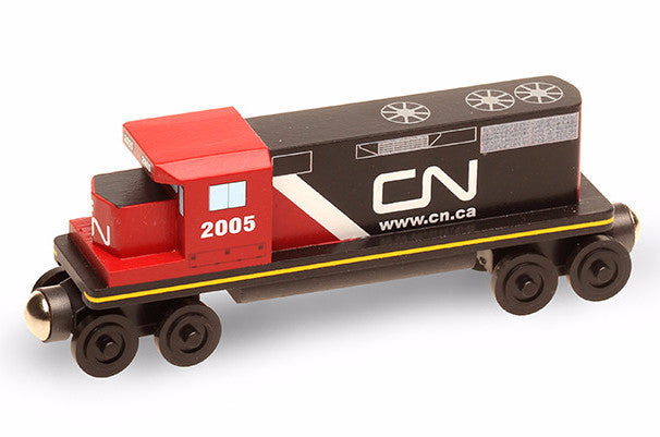 Whittle Shortline Railroad Canadian National GP-38 Diesel Engine Wooden Toy Train