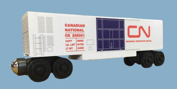 Canadian National Mechanical Refrigerator Car