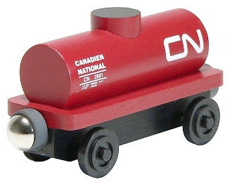 Whittle Shortline Railroad Canadian National Tanker Car Wooden Toy Train