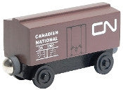Whittle Shortline Railroad Canadian National Boxcar Wooden Toy Train