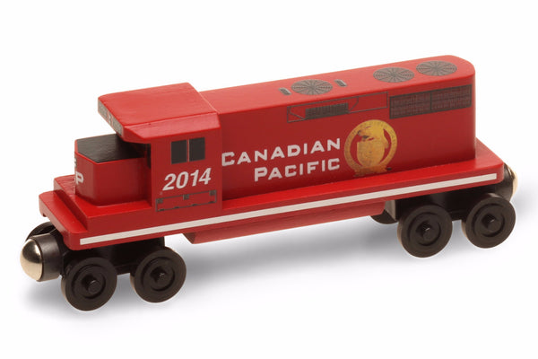 Whittle Shortline Railroad Canadian Pacific GP-38 Diesel Engine Wooden Toy Train