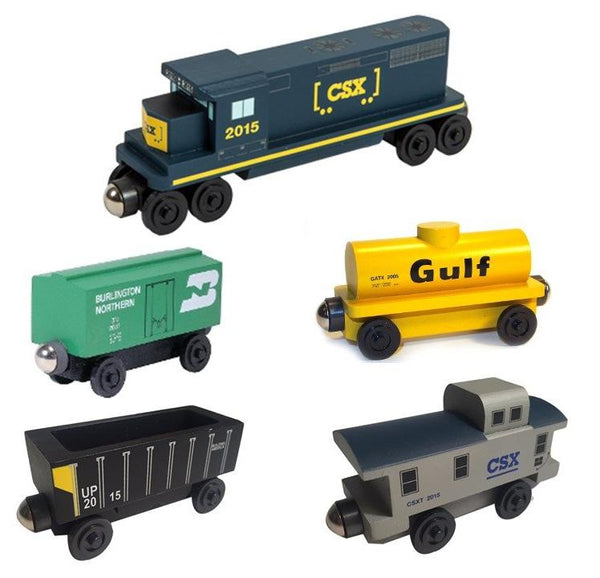 CSX-T - GP-38 5pc. Railway Train Set