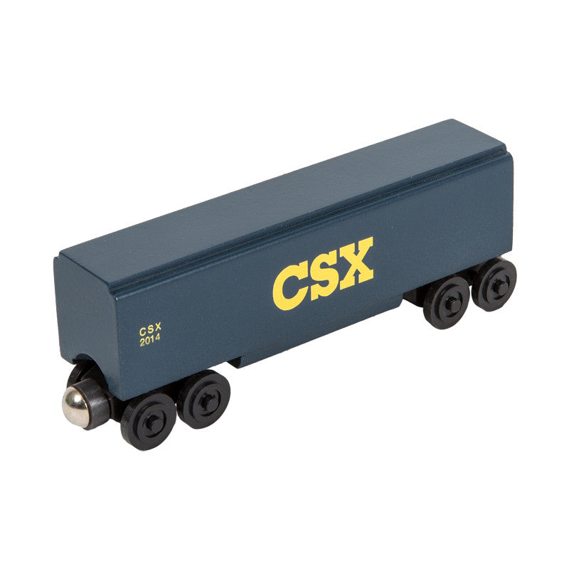 Whittle Shortline Railroad CSX Covered Hopper Wooden Toy Train