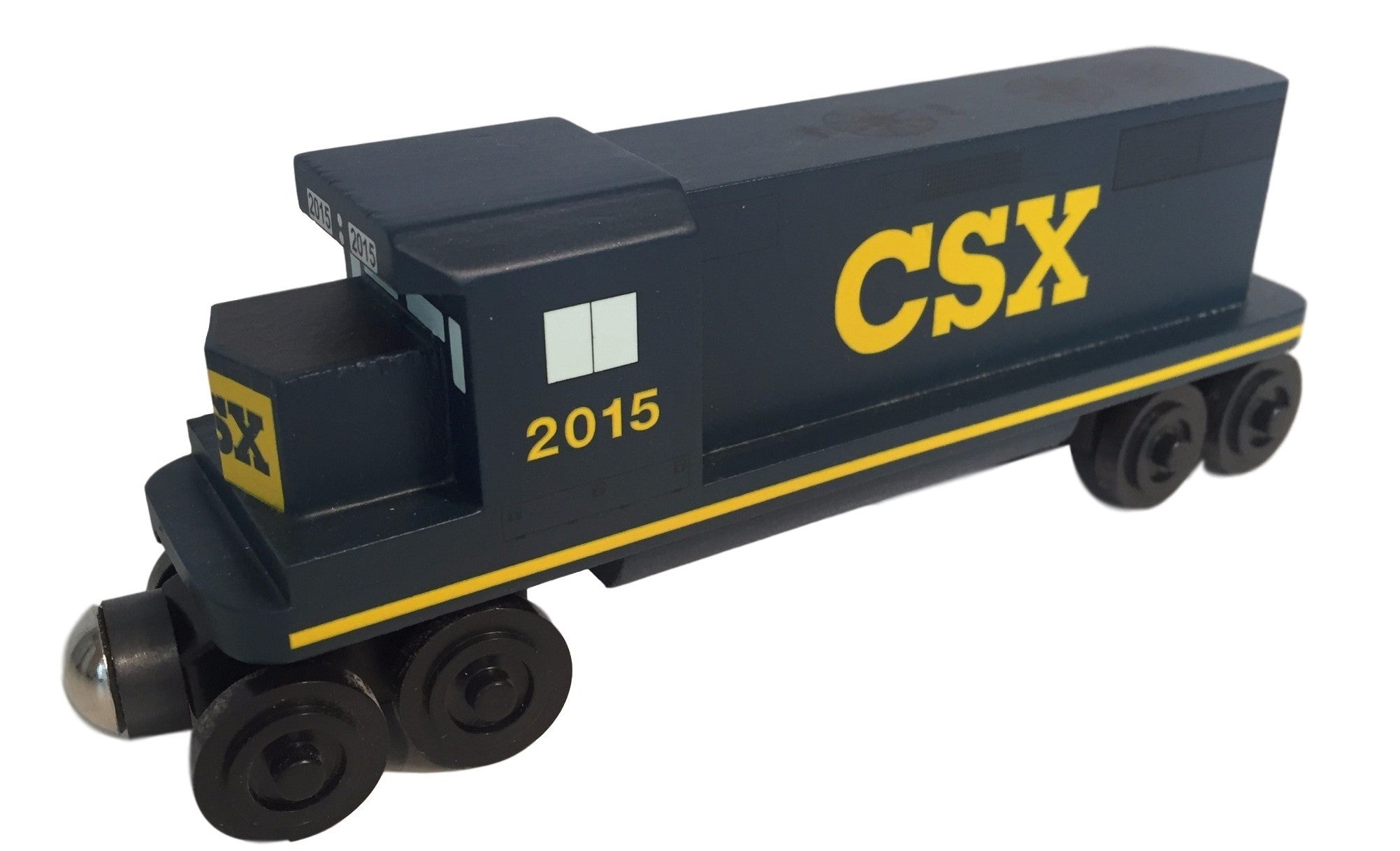 Whittle Shortline Railroad CSX GP-38 Diesel Engine Wooden Toy Train