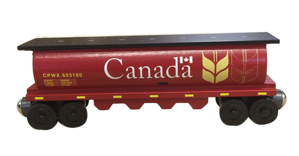 Whittle Shortline Railroad Canada Wheat 1 Cylinder Hopper