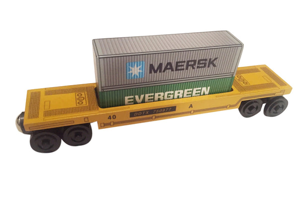 Maersk/Evergreen Doublestack Car