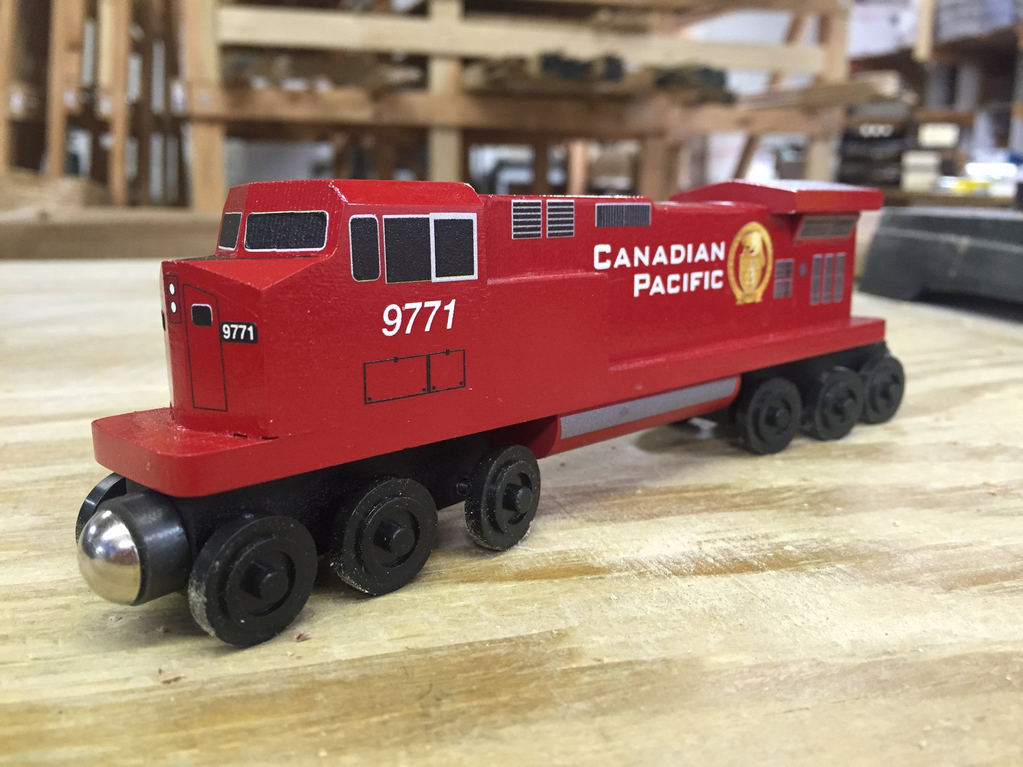 Canadian Pacific C-44 Diesel Engine