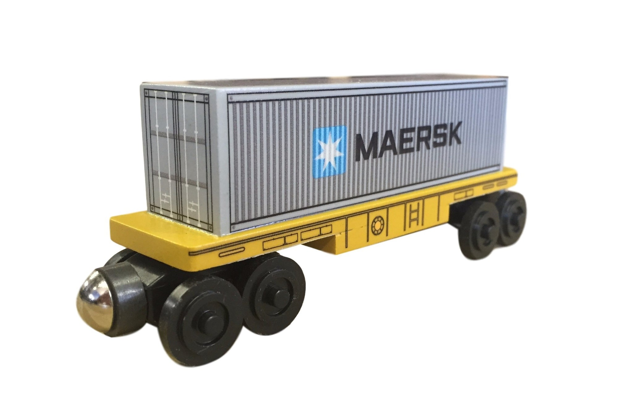 Singlestack Maersk toy train - European