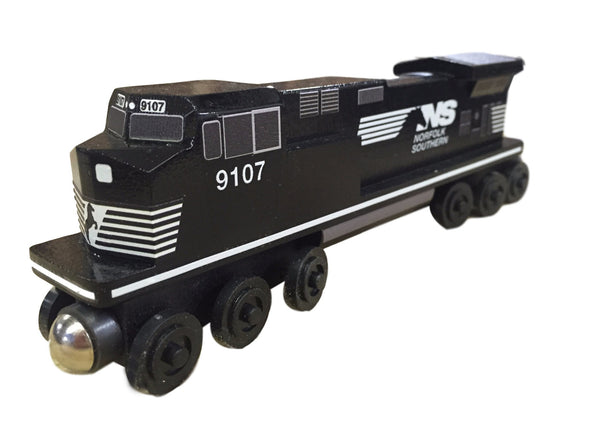 Whittle Shortline Railroad Norfolk Southern C-44 Engine Wooden Toy Train
