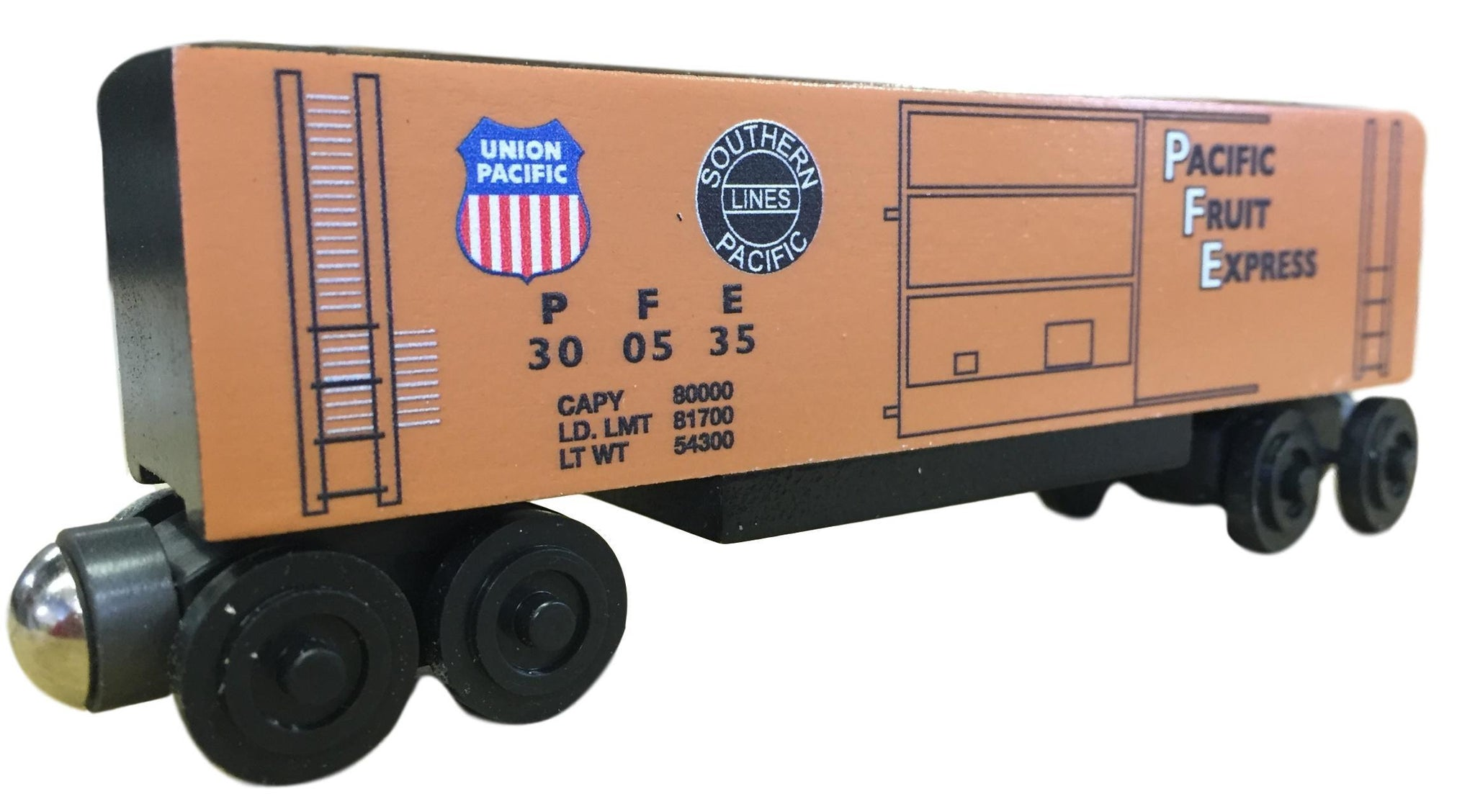 Pacific Fruit Express Hi-Cube Boxcar