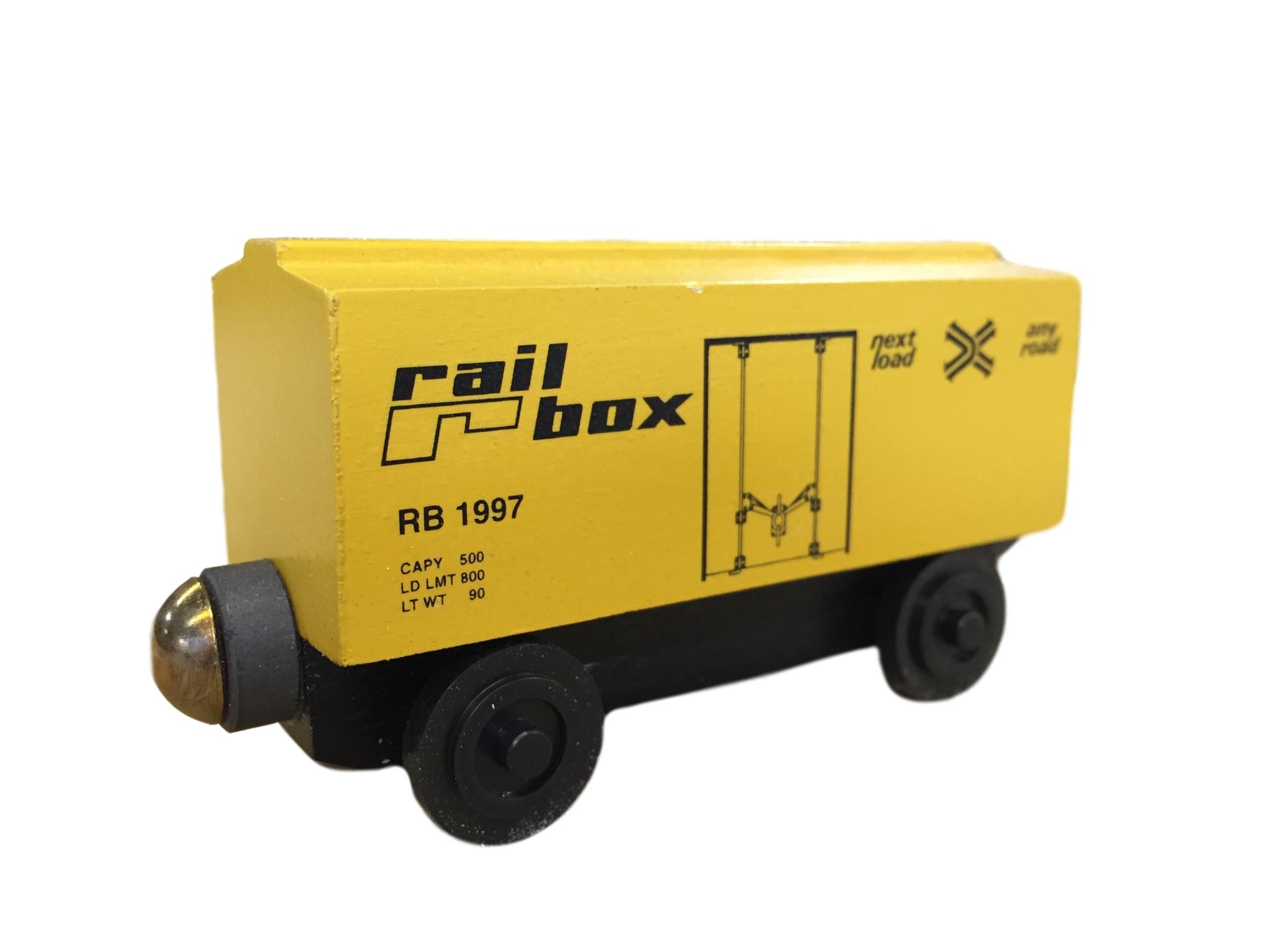"1997 Railbox 3"" Boxcar - ""From The Vault"""