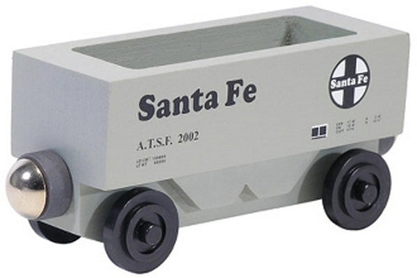 Whittle Shortline Railroad Santa Fe Hopper Wooden Toy Train