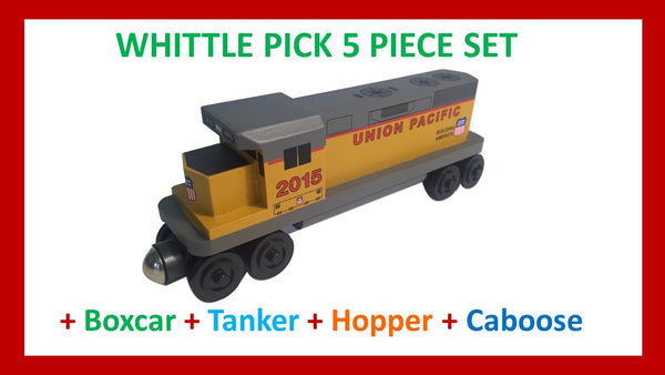 Union Pacific - Whittle Pick 5 Piece Diesel Engine Set