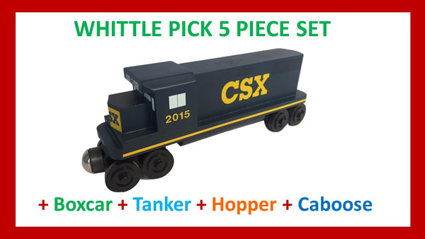 CSX - Whittle Pick 5 Piece Diesel Engine Set