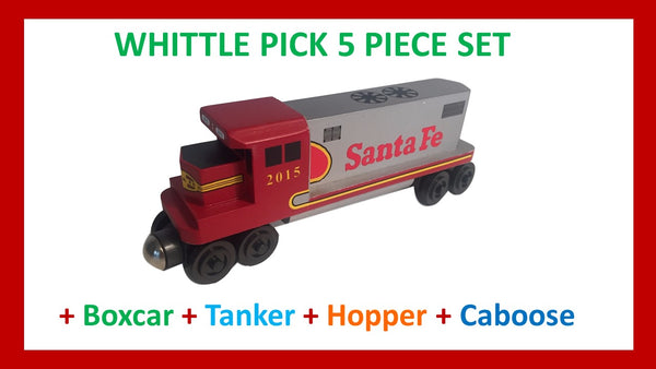 Santa Fe Warbonnet - Whittle Pick 5 Piece Diesel Engine Set