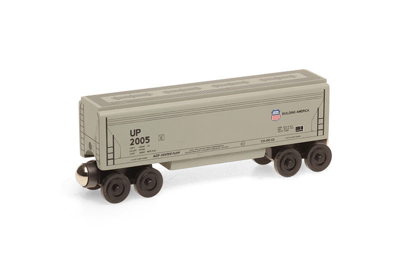 Whittle Shortline Railroad Union Pacific Covered Hopper Wooden Toy Train