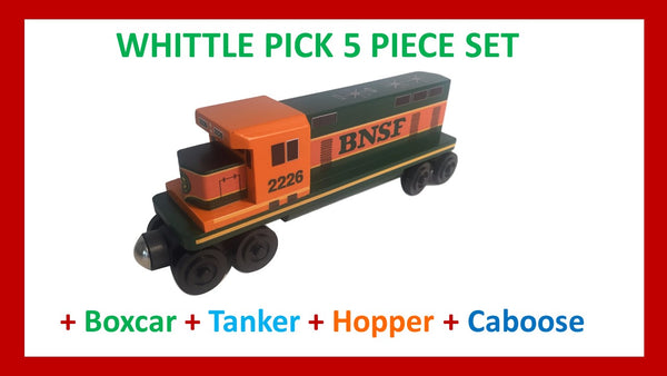 BNSF - Whittle Pick 5 Piece Diesel Engine Set