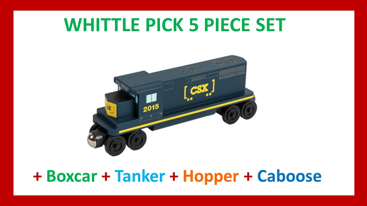 CSX-T - Whittle Pick 5 Piece Diesel Engine Set