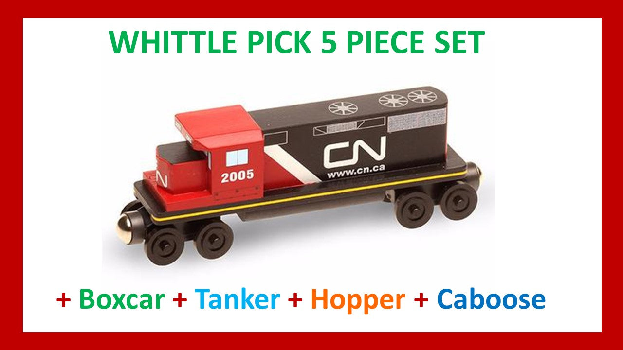 Canadian National - Whittle Pick 5 Piece Diesel Engine Set