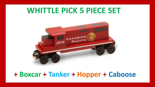 Canadian Pacific - Whittle Pick 5 Piece Diesel Engine Set