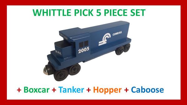 Conrail - Whittle Pick 5 Piece Diesel Engine Set
