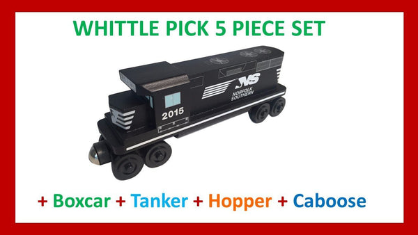 Norfolk Southern - Whittle Pick 5 Piece Diesel Engine Set
