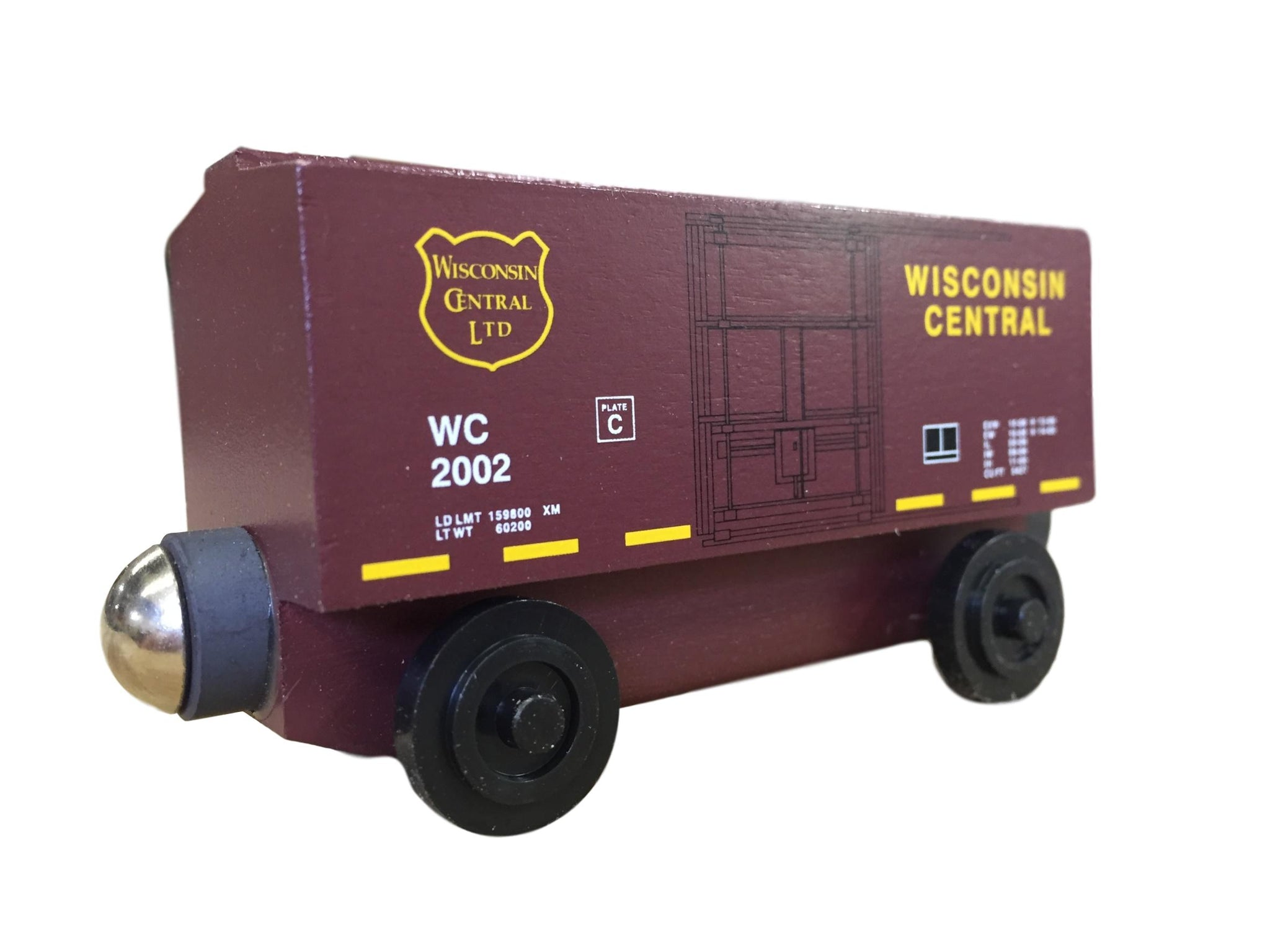 "2002 Wisconsin Central 3"" Boxcar - ""From The Vault"""