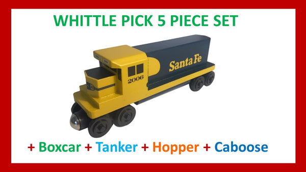 Santa Fe Yellowbonnet - Whittle Pick 5 Piece Diesel Engine Set