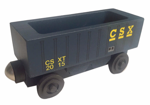 Whittle Shortline Railroad CSX Hopper Wooden Toy Train