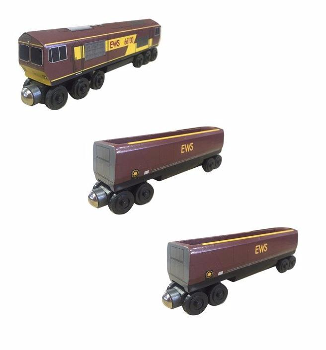 EWS toy train 3pc. Set - European