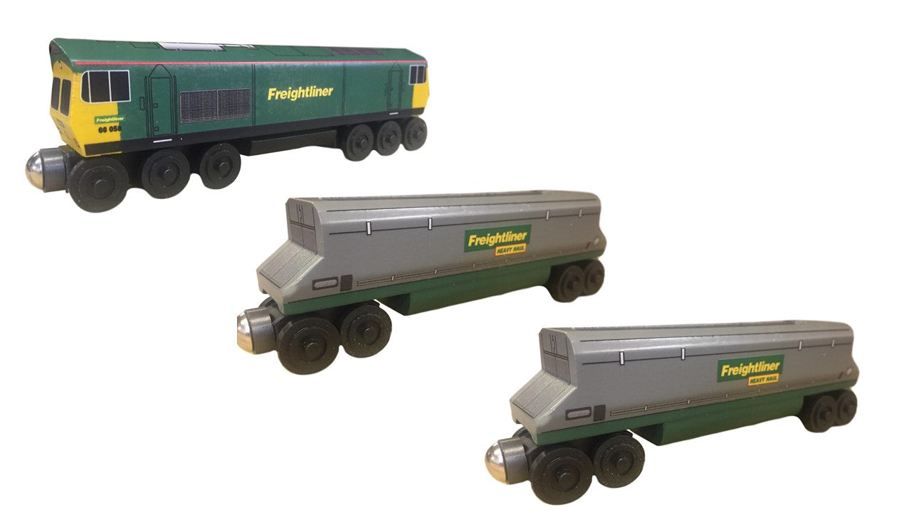Freightliner toy train 3pc. Set - European