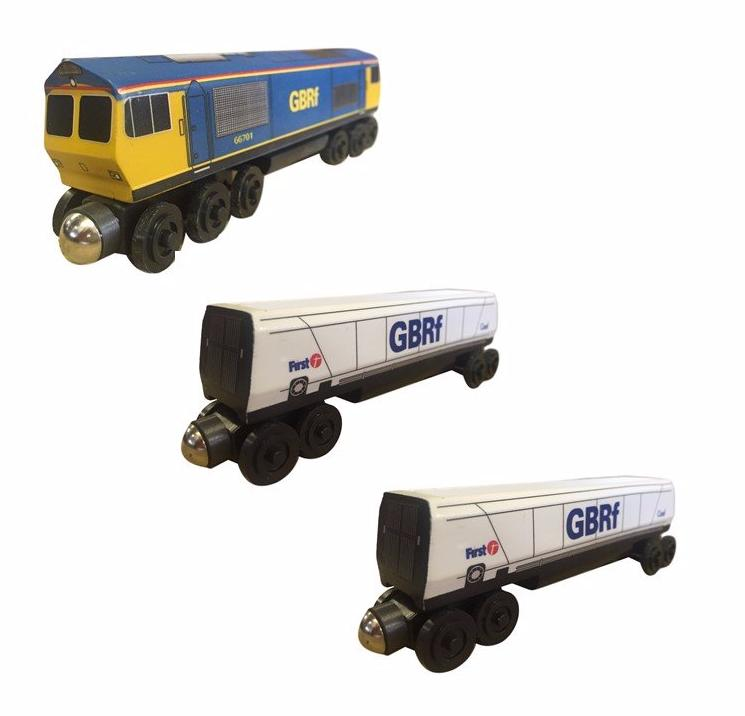 Gbrf toy train 3pc. Set - European