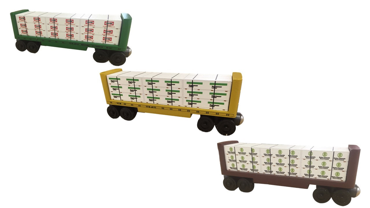 Whittle Shortline Lumber Car Set #2