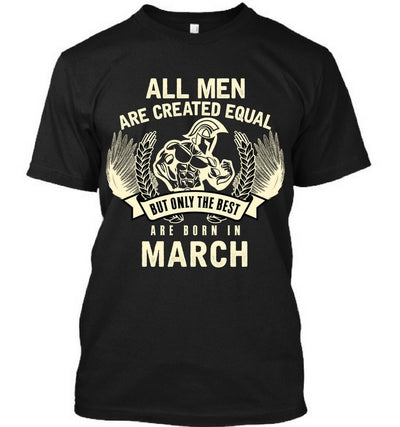 The Best Men are Born In March