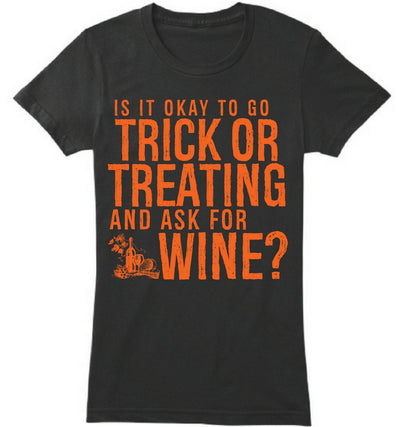 Ask for wine