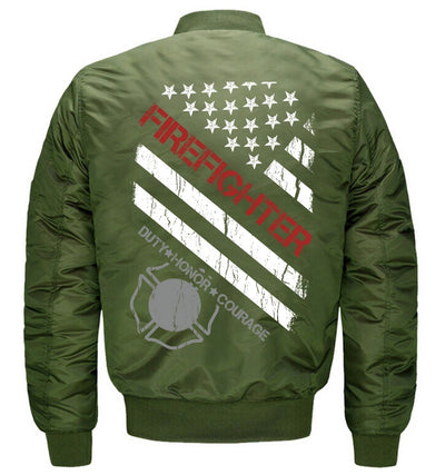 Firefighter Bomber Jacket