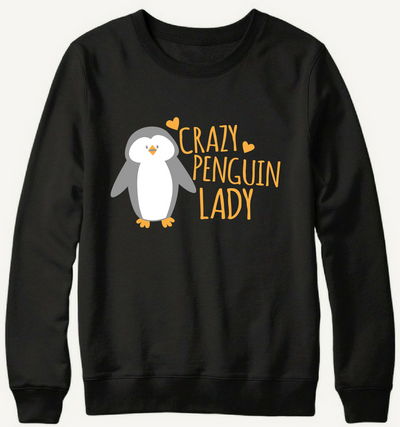 Crazy Penguin Lady