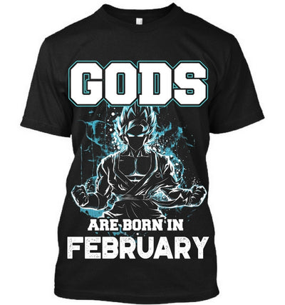 Gods are born in February