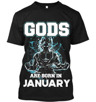 Gods are born in January