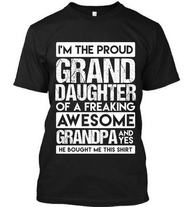 Granddaughter Of Freaking Awesome Grandpa