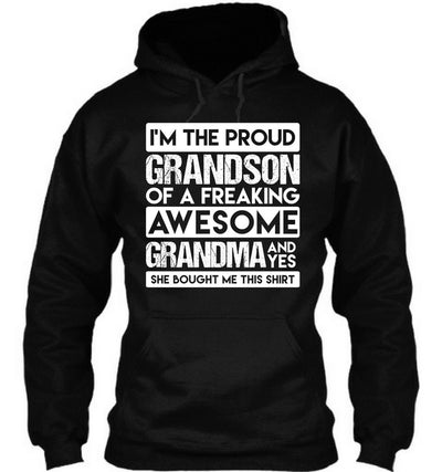 Grandson Of Freaking Awesome Grandma