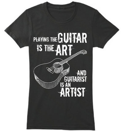 Guitarist is an Artist