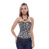 GOTHIC SKELETON CORSET TOP