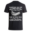I am grandpa- Backprint
