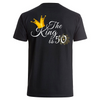 King is 50- Backprint