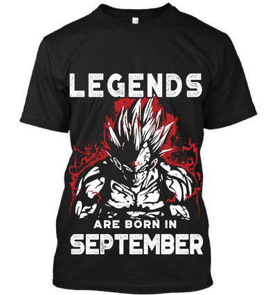 Legends are born in September