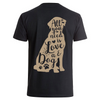 Love and a dog- Backprint