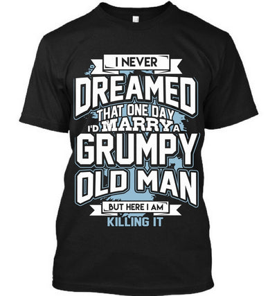 Marrying Grumpy Old Man