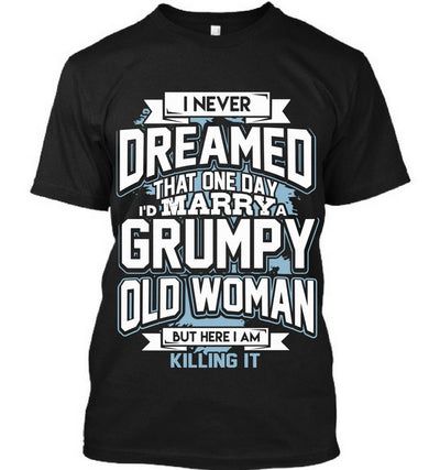 Marrying Grumpy Old Woman